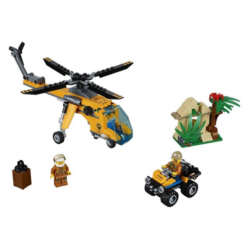 LEGO® City Nákladní helikoptéra do džungle 60158