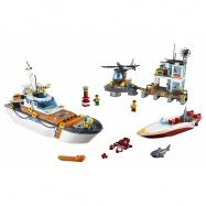 LEGO® CITY Základna pobřežní hlídky 60167