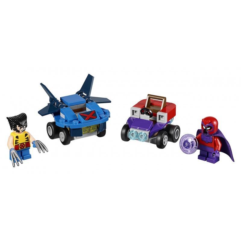 LEGO® Super Heroes Mighty Micros: Wolverine vs. Magneto 76073