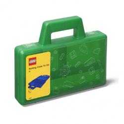 LEGO úložný box TO-GO - zelená