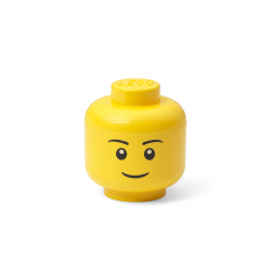LEGO úložná hlava (mini) - chlapec