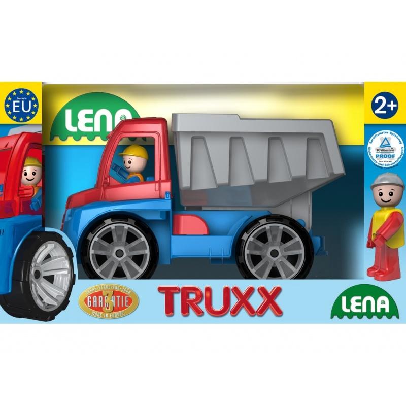 Auta Truxx sklápěč v krabici