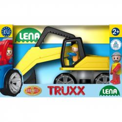 Autá Truxx bager v krabici