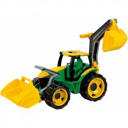 Traktor spychacz+ koparka Lena
