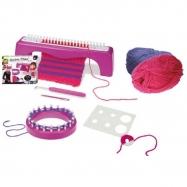 Knitting Studio: Knitting Table Miley 3 w 1+ dzianinowy plastik z akcesoriami