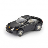 Autíčko Darda - Porsche 911, čierne