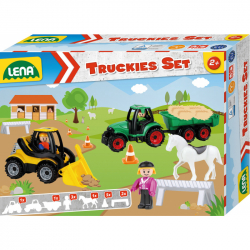 Truckies Set farma, okrasný kartón