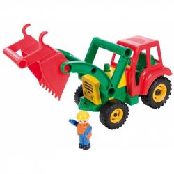 Aktívný traktor s lyžicou