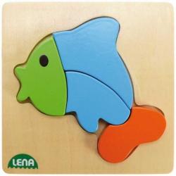Drevené puzzle, ryba
