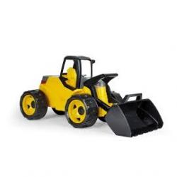 LENA buldożer nowoczesny czarno-zółty