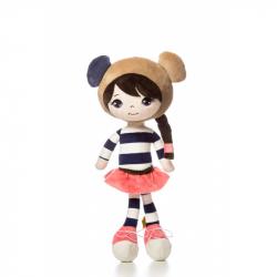 Levenya K394PA Nadine - plyšová bábika 36 cm