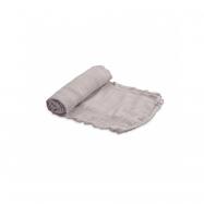 Mušelínová zavinovací plena Deluxe 120x120cm Warm Grey