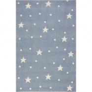 fe5e00cd7 Detský koberec HEAVEN modrošedý / biely 100x150 cm