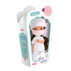 Llorens 52609 MISS MINIS ZDRAVOTNÁ SESTRA - bábika s celovinylovým telom - 26 cm