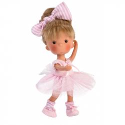 Llorens 52614 MISS MINIS BALLET - bábika s celovinylovým telom - 26 cm