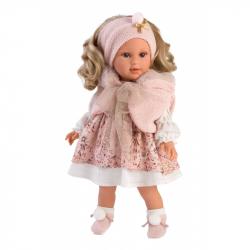 Llorens 54032 LUCIA - realistická bábika s mäkkým látkovým telom - 40 cm