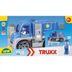 Autá Truxx polícia v krabici