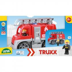 Autá Truxx hasiči v krabici