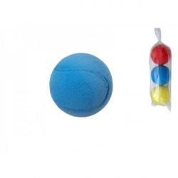Soft loptu na softtenis penový priemer 7cm 3ks v sáčku