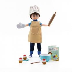 Lottie Oblečenie pre bábiku cukrárka