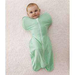 LOVE TO DREAM Rychlozavinovačka Swaddle Up Lite, Mint 6 - 8,5 kg