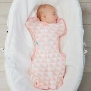 LOVE TO DREAM Rychlozavinovačka Swaddle Up Lite Bamboo, Coral 6 - 8,5 kg
