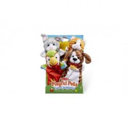 Maňušky domáce zvieratká 25cm 4ks na karte v sáčku