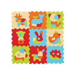 Puzzle penové 90x90 cm Zvieratká
