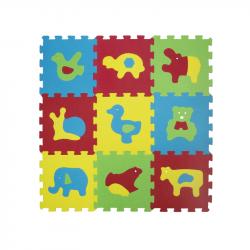 Puzzle penové 84x84 cm zvieratka Basic