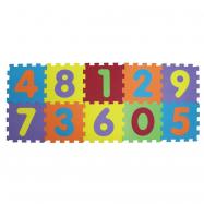 Puzzle penové 143x48 cm čísla