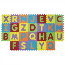 Puzzle penové 199x115 cm písmená