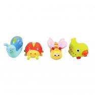 Hračky do vody zvířátka z louky 4ks