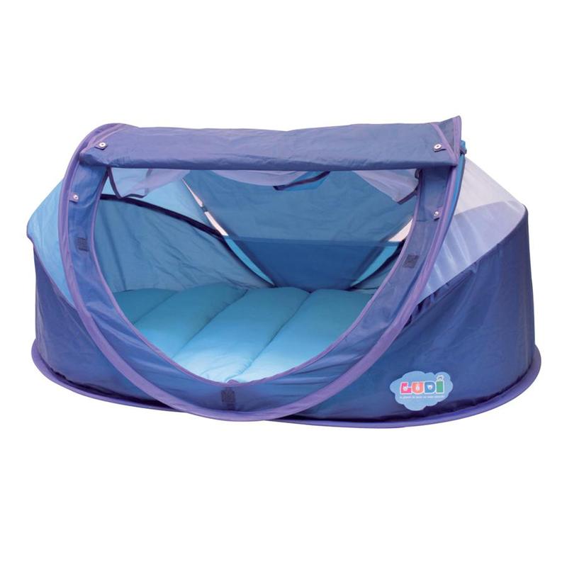 Stan pre bábätko anti-UV Nomad modrý