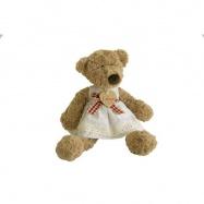 Plyšová hračka - Medvědice Lumpinka s mašlí, malá