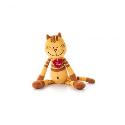 Kočka Pipa Lipa žlutá 38 cm