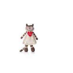 Kočka Angelique v šatech, malá