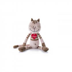 Kočka Kate, střední - Béžová (38 cm)