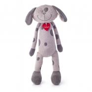 Pes Flavio šedý velký 40 cm
