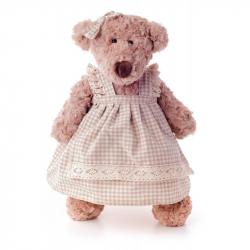 Medvěd Lumpinka v šatech -  střední 43 cm