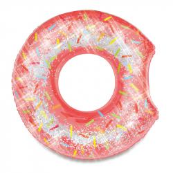 Nafukovací kruh donut s trblietkami