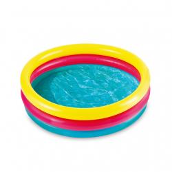 Nafukovací bazénik troch komorový