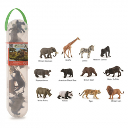 Divoké zvieratá, 12 ks