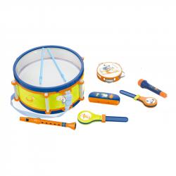 Buben s nástroji