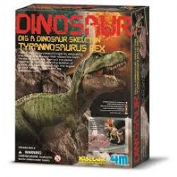 Dinosauří kostra - REX