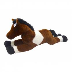 Kôň bielo / tm-hnedý 80 cm