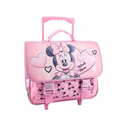07128 - Trolley schoolbag Minnie
