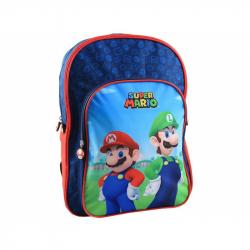 Backpack 2 compartments Super Mario, objem batohu 19,5 l