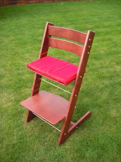 Dětská rostoucí židle JITRO KLASIK mahagon