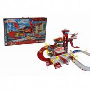 Garáž Creatix Rescue Station + 1 autíčko a helikoptéra