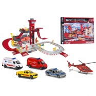 Creatix Záchranná stanice + 5 dopravních prostředků